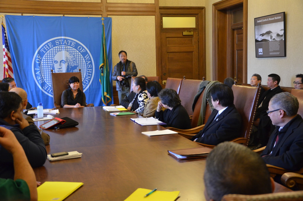AAPI Leaders Meet with Governor Jay Inslee's Chief of Staff, Joby Shimomura