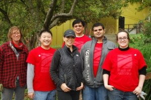 Volunteers from Bank of America Lend a Hand in the Danny Woo Community Garden