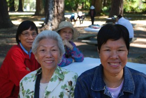 Tran Nu & Tu Dung from NT at 2012 WILD picnic