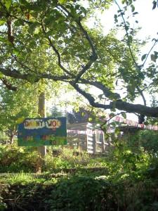 childrens garden sign