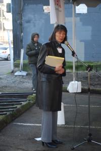 State Representative Sharon Tomiko Santos