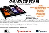 Join Us: A Conversation with Gang of Four Member Bob Santos and others