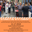 'RECONNECTING COMMUNITY' – DINNER